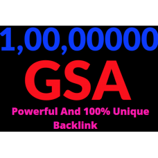 10M GSA Power and Unique Backlinks