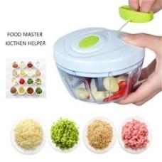 500/900ML Powerful Meat Grinder Hand-power Food Chopper Mincer Mixer Blender