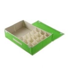 15 Grid Home Underwear Storage Box Drawer Divider Bra Organizer Bedroom Organizer Storage Stackable Box Closet Organizers Boxes