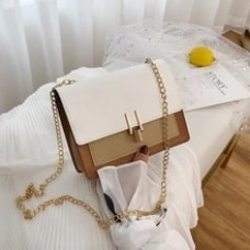 British Fashion Simple Small Square Bag Women's Designer Handbag