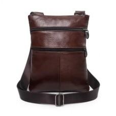 Casual Genuine Leather Messenger Bags Mens Bag For Men Small Phone Bag Men's Crossbody Bag