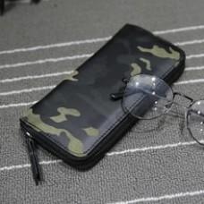 Camouflage Men Wallets Zipper Design Mens Clutch Purse Hand Wallet