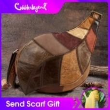 Cobbler Legend Genuine Leather Bag Women Messenger Bag Vintage Bag