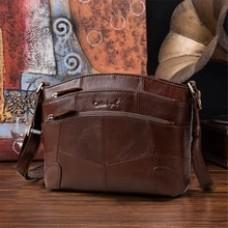 Cobbler Legend Multi Pockets Vintage Genuine Leather Bag