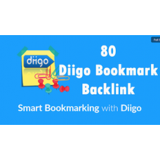50 Diigo Bookmark backlink DA30+ Site Bookmark