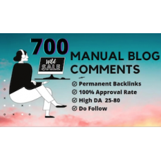 700 top quality blog comments backlinks SEO service