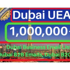 100000+ Dubai UEA b2b B2c email Database