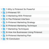 Pinterest Marketing Excellent Video Course