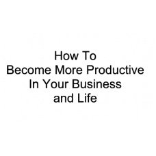 Productivity Mastery Video Audio Course