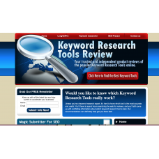 100% Autopilot Money Making Clickbank Affiliate Website-Keyword Spy Tools Niche