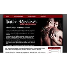 100% Autopilot Money Making Clickbank Affiliate Website-Tattoo Niche