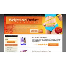 100% Autopilot Money Making Clickbank Affiliate Website-Weight Loss Niche