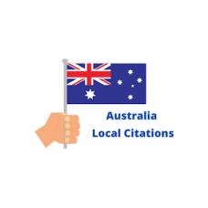 Create 30 top australia local citations