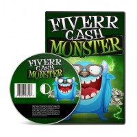 Fiverr Cash Monster Video Course With PLR