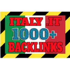 1000 italy IT backlinks