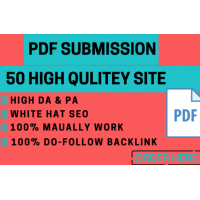 50 manual PDF submission on top document sharing sites
