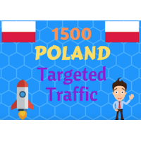 1500 Poland TARGETED visitors to your web or blog site