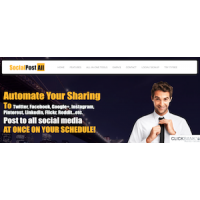 Online Social Media and Email Auto Poster Website For Sale