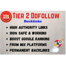 8000 tier 2 dofollow backlinks