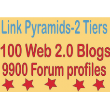 Boost Multi-Tier Backlinks -10000 Web 2.0 Blogs & Forum profiles Tiered Backlink