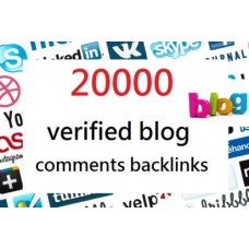 SEO Backlinks Create 20000 verified blog comments backlinks Rank Higher