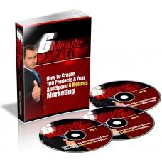 6 Minutes Marketing Video Training Courses PLR