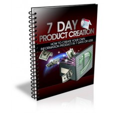 7 Day Product Creation Crash Course