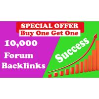10,000 GSA SER Forum Backlinks for Google SEO