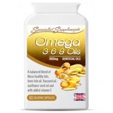 Omega 3-6-9 v1 (SNC60) gel caps