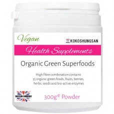 KOKOSHUNGSAN Organic Green Superfoods 300g powder
