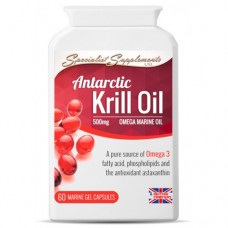 Specialist Supplements Antarctic Krill Oil gel caps
