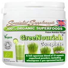 Specialist Supplements GreeNourish Complete organic powder