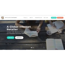Affiliate Network Website