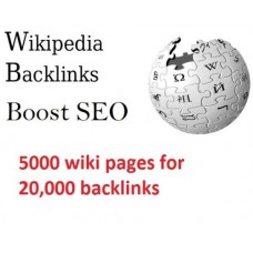 SEO write article spin and submit to 5000 wiki pages for 20,000 backlinks