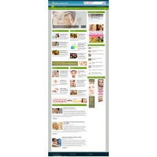 Established Clickbank Affiliate Blog Website-Anti Aging Treatment Niche