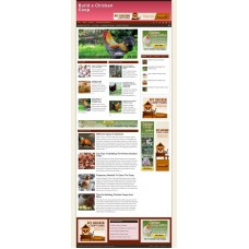 Established Clickbank Affiliate Blog Website-Chicken Coop Niche