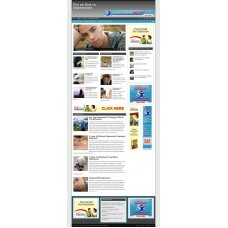 Established Clickbank Affiliate Blog Website-Depression Niche
