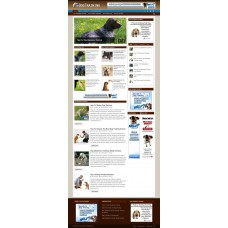 Established Clickbank Affiliate Blog Website-Dog Training Niche