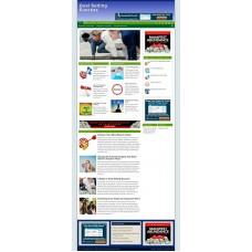 Established Clickbank Affiliate Blog Website-Goal Setting Niche
