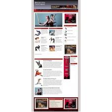 Established Clickbank Affiliate Blog Website-Martial Arts Niche