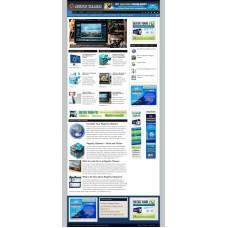Established Clickbank Affiliate Blog Website-Registry Cleaners Niche
