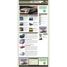 Established Clickbank Affiliate Blog Website-Seized Car Auction Niche