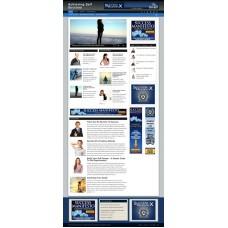 Established Clickbank Affiliate Blog Website-Self Success Niche