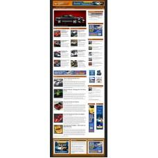 Established Clickbank Affiliate Blog Website-Slot Cars Niche