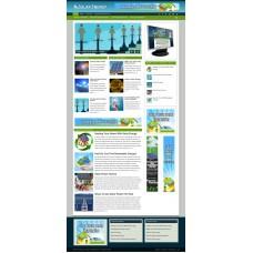 Established Clickbank Affiliate Blog Website-Solar Energy Niche