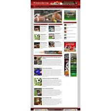 Established Clickbank Affiliate Blog Website-Sports Betting Niche