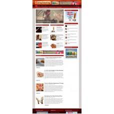Established Clickbank Affiliate Blog Website-Stop Smoking Niche
