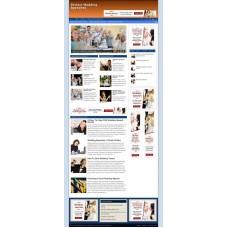 Established Clickbank Affiliate Blog Website-Wedding Speeches Niche