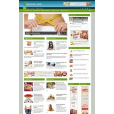 Established Clickbank Affiliate Blog Website-Weight Loss Niche