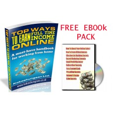 Free ebook package- Top ways to earn money online